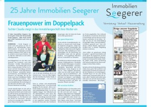 Wochenblatt Immobilien Seegerer