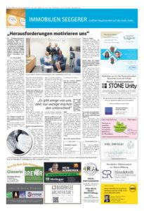 Artikel in der Lindauer Zeitung über unser neues Büro